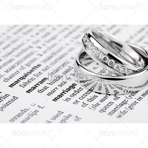 wedding rings, marriage definition