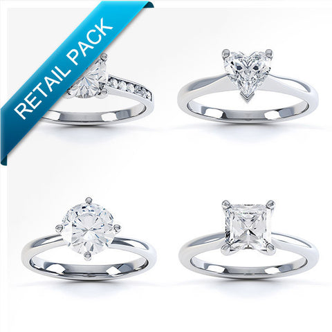 Retailer diamond ring pack