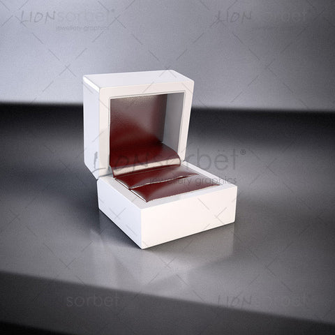 Red Jewellery box for jewellery website design