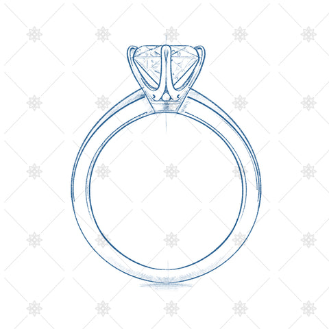 tiffany ring sketch and design