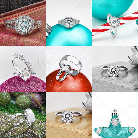 Winter Pack Vol 1- Jewellery Marketing Images