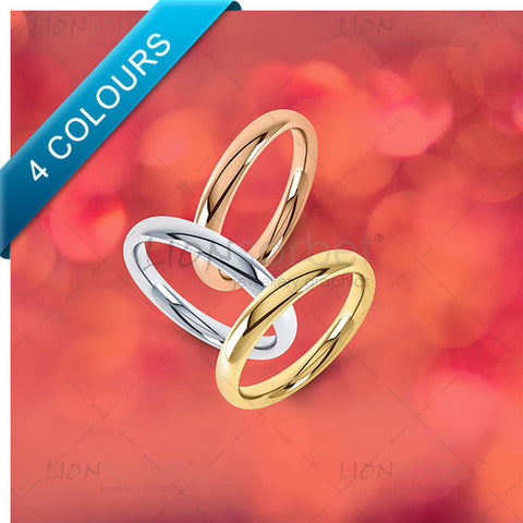 Colour wedding ring image pack in exciting colours