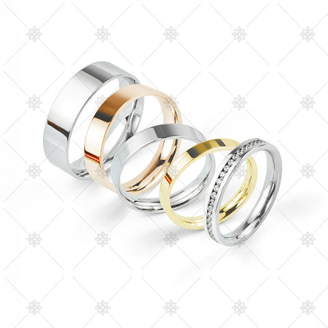 Selection of Wedding Rings - WP1046