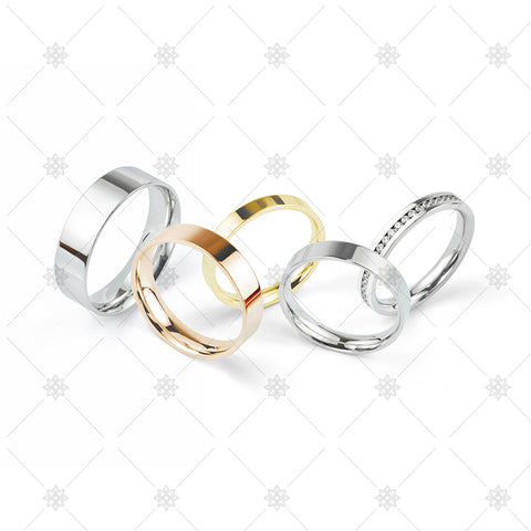 Wedding rings group - WP1048
