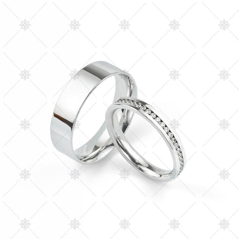 Wedding ring set - WP1049
