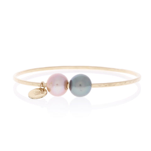 Edison & Tahitian Pearl Bangle