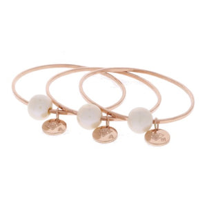 White Edison Pearl Baby Bangle