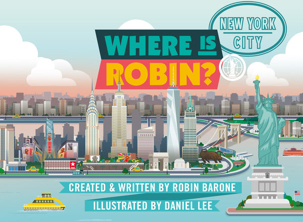 AVAILABLE APRIL 2019: WHERE IS ROBIN? NEW YORK CITY