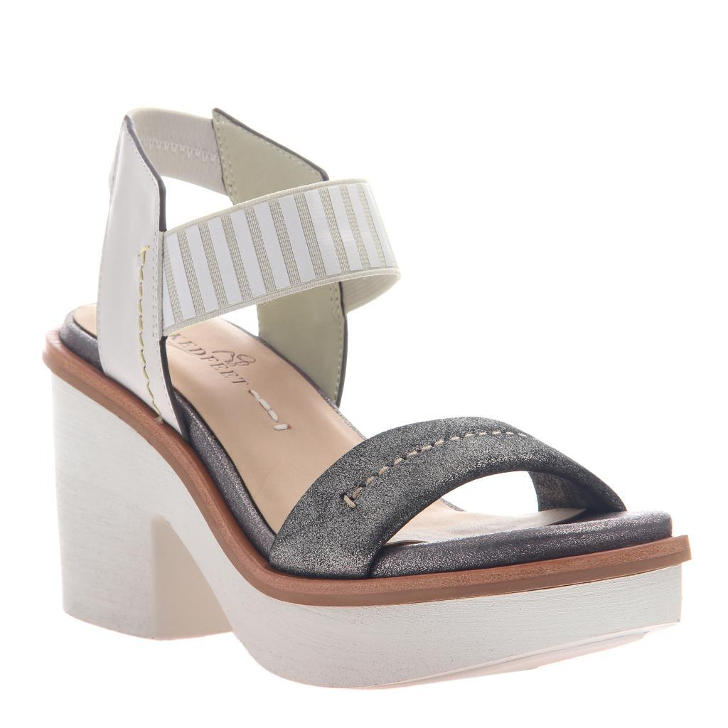 b7a22134307e Basalt in Grey Silver Heeled Sandals