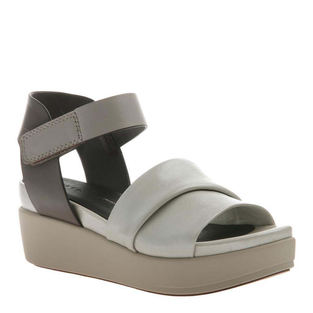 91aa877d707 KODA in OFF WHITE Wedge Sandals. NAKED FEET