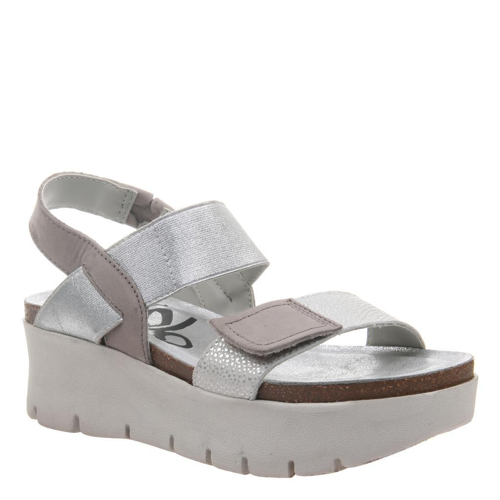5aab8b30e6 Nova in New Silver Wedge Sandals   Women's Shoes by OTBT - musthaveSHOES