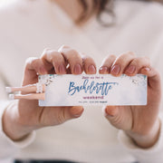 CUSTOM BACHLORETTE PARTY INVITATION BOOKMARK