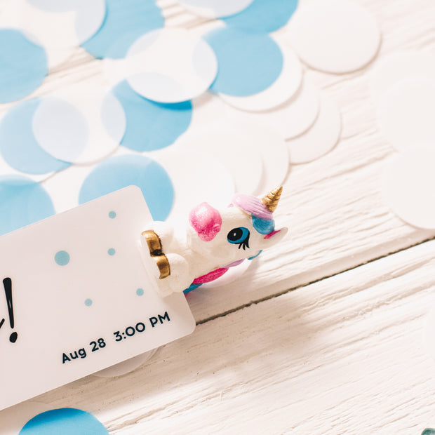 Balloon CUSTOM BABY SHOWER INVITATION BOOKMARK