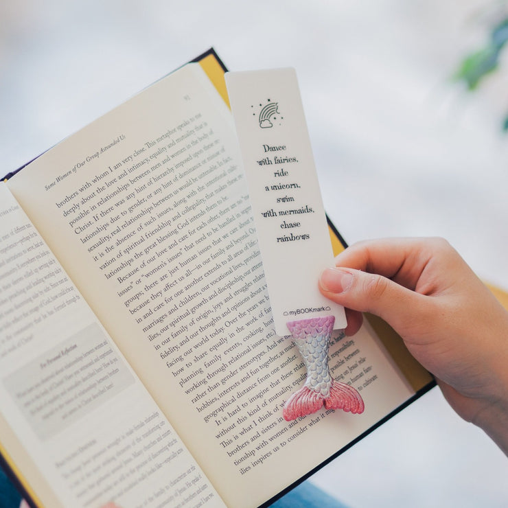 Rainbow Tail Bookmark
