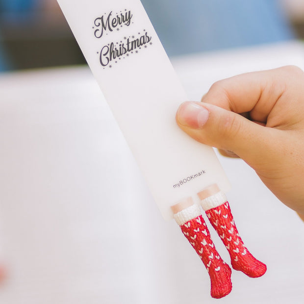 Christmas Socks Bookmark