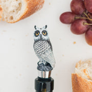 Owl  Wine Stopper - MYBOOKMARK