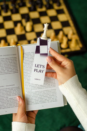 Chess Queen Handmade Bookmark