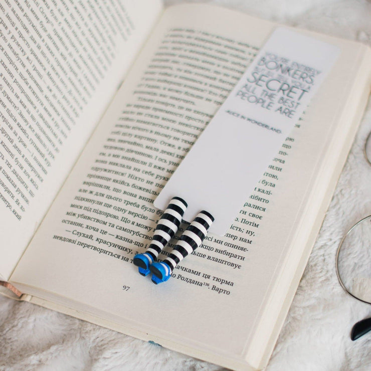 Alice Bookmark Booklover - MYBOOKMARK