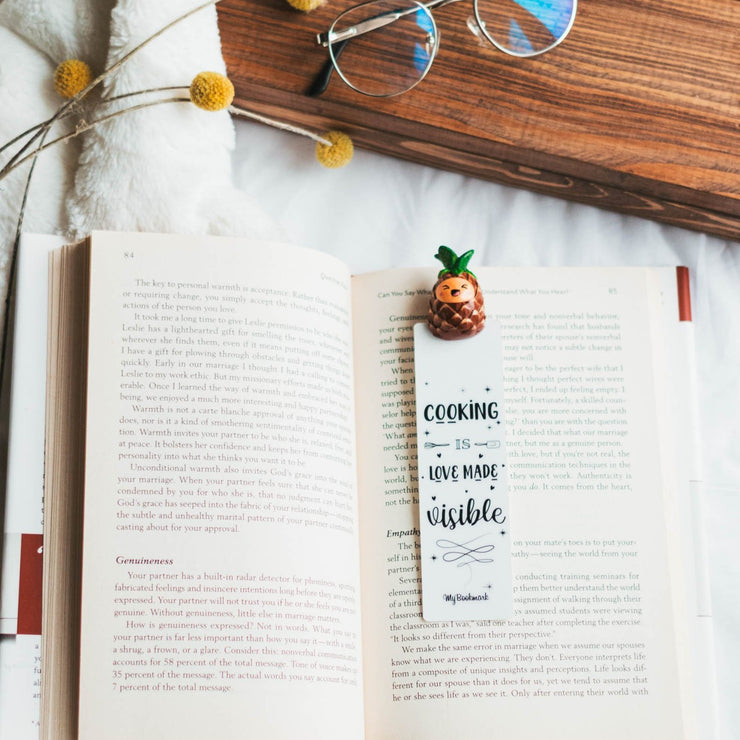 Pineapple Bookmark for Books - MYBOOKMARK