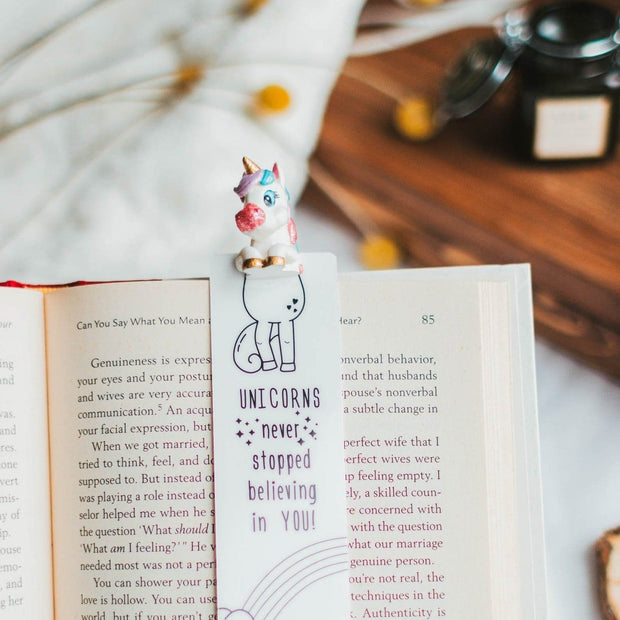 Unicorn babe Bookmark - MYBOOKMARK