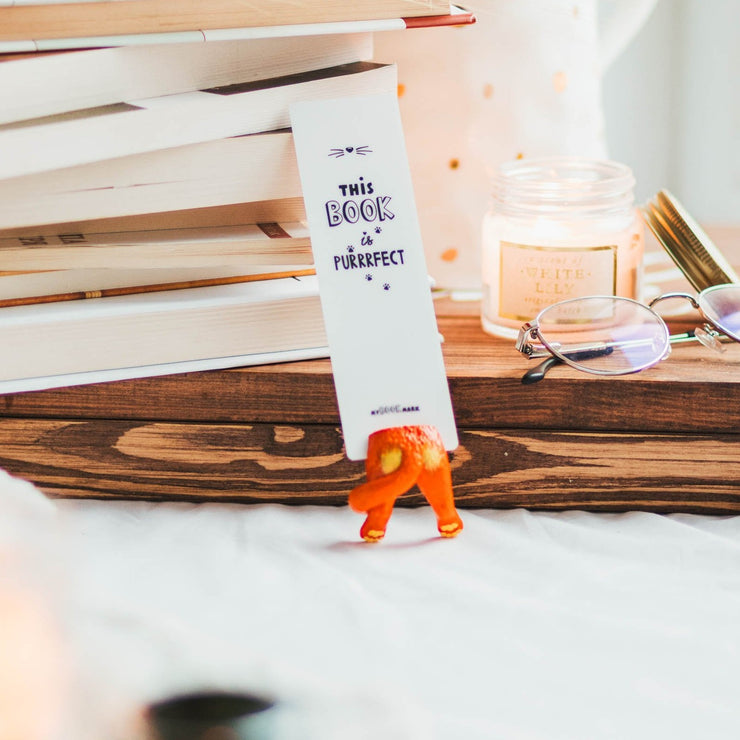 Red Cat Bookmark - MYBOOKMARK