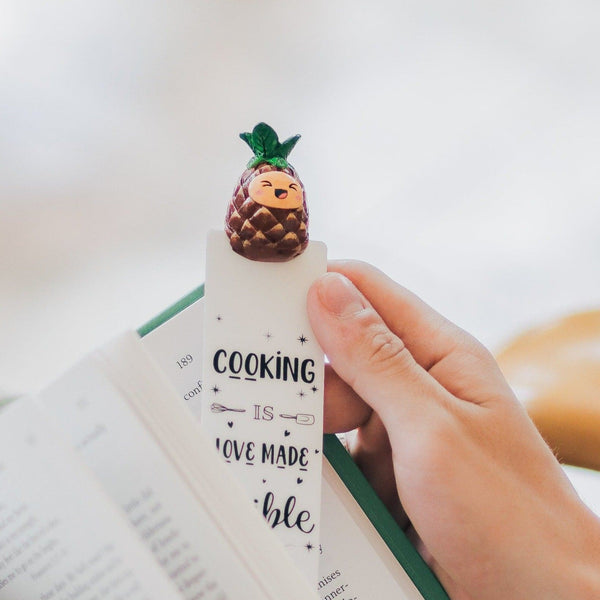 Pineapple Bookmark for Books