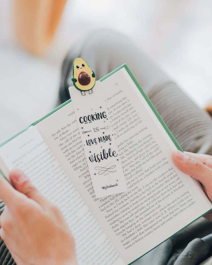Avocado Personalized Bookmarks - MYBOOKMARK