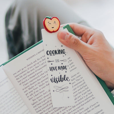 Apple Bookmark Booklover - MYBOOKMARK