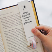 Unicorn Tail Bookmark - MYBOOKMARK