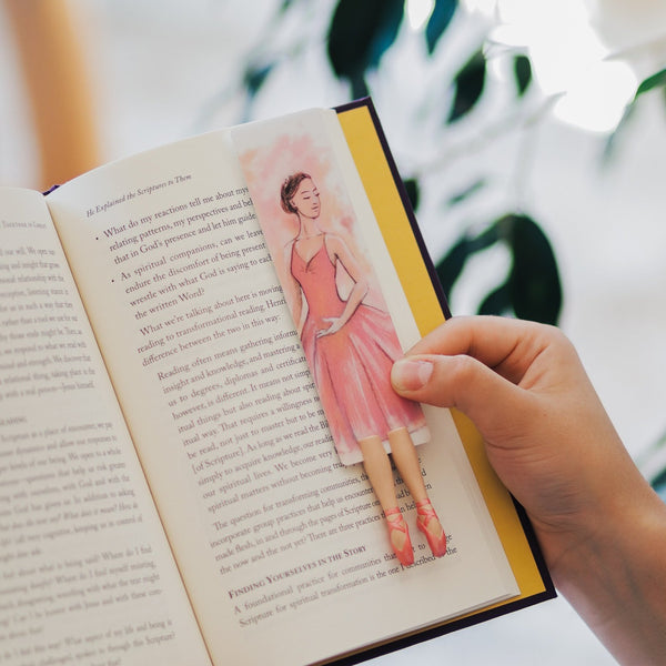New Ballerina Bookmark