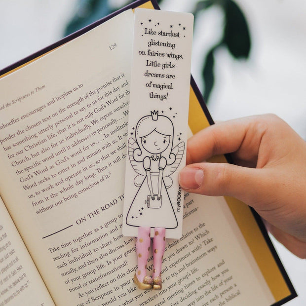 Truly Handmade and Crafted With Love Book Gift Idea for Girl Bookmarks Glossy Nymph Mothers Day from FAIRYLAND collection MyBookmark Ideal Gift For Everyone