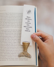 Glossy Nymph Bookmark - MYBOOKMARK