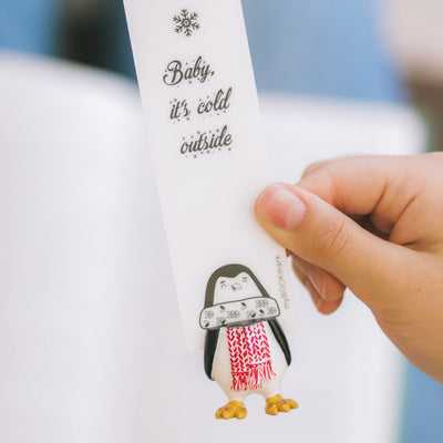 Penguin Bookmark - MYBOOKMARK
