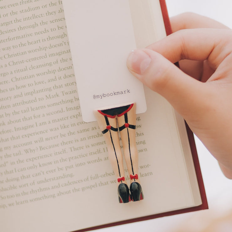 Cabaret In Stockings Bookmark - MYBOOKMARK