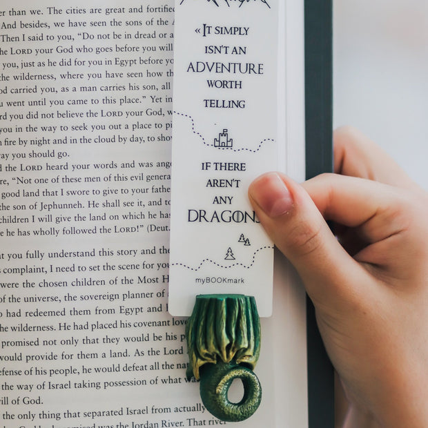 Green Dragon Game Of Thrones Bookmark - MYBOOKMARK