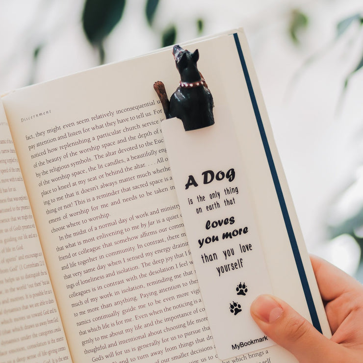Doberman Dog Bookmark - MYBOOKMARK
