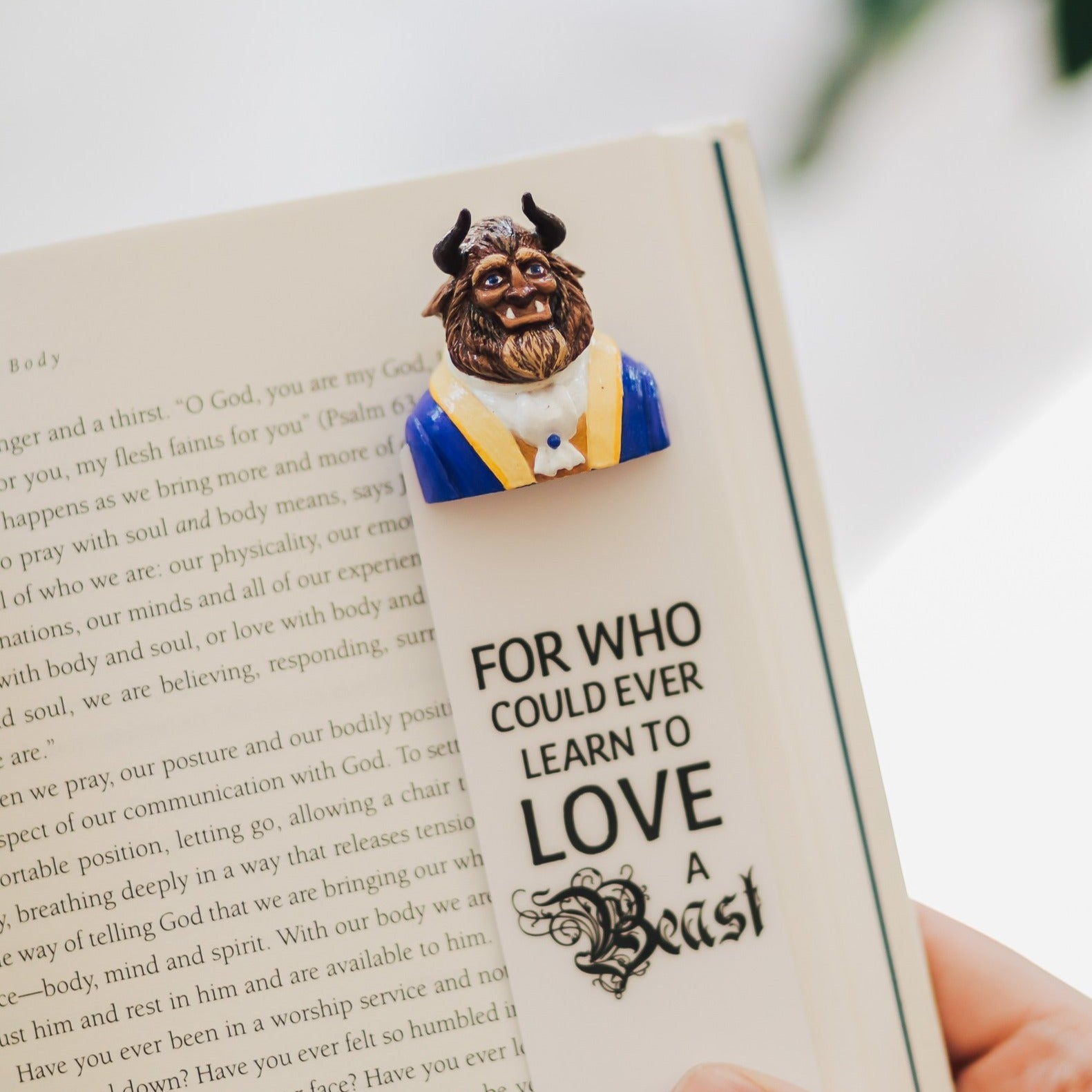 The Beast Bookmark Booklover