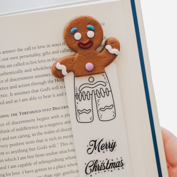 Gingerbread Man Bookmark - MYBOOKMARK