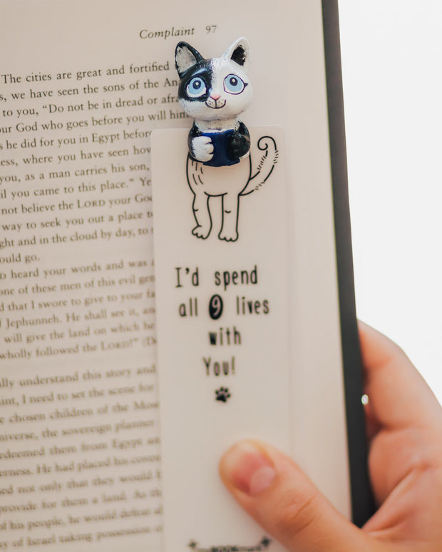 Kitty Reader Bookmark - MYBOOKMARK