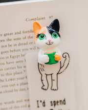 Kitty Reader Bookmark