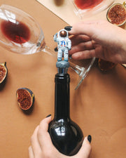 Astronaut Bottle Stopper Holder