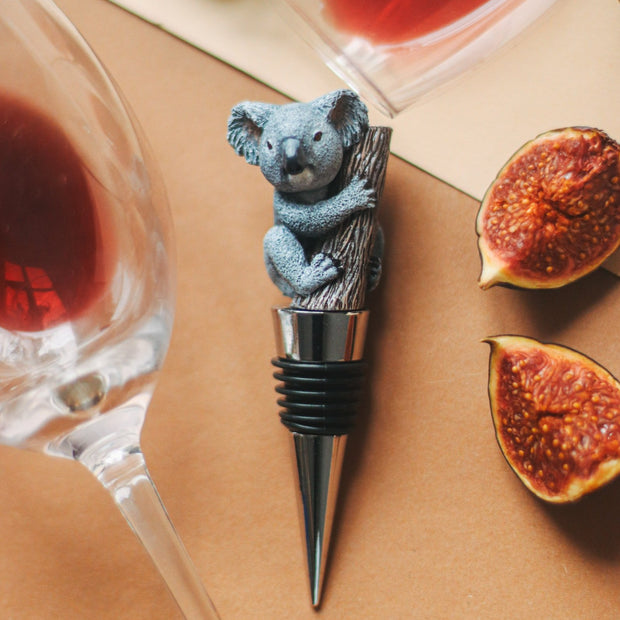 Koala Bottle Stopper Holder