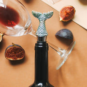 Mermaid Tail Bottle Stopper Holder