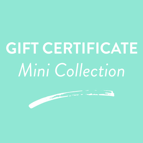Gift Certificate - Mini Session Collection