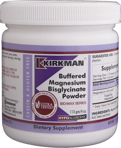 Buffered Magnesium Bisglycinate Powder - Bio-Max Series