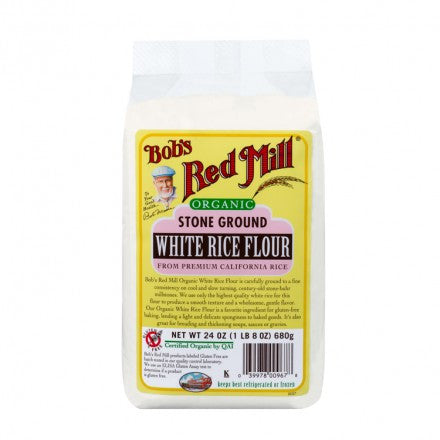 Bobs Red Mill Flour: White Rice