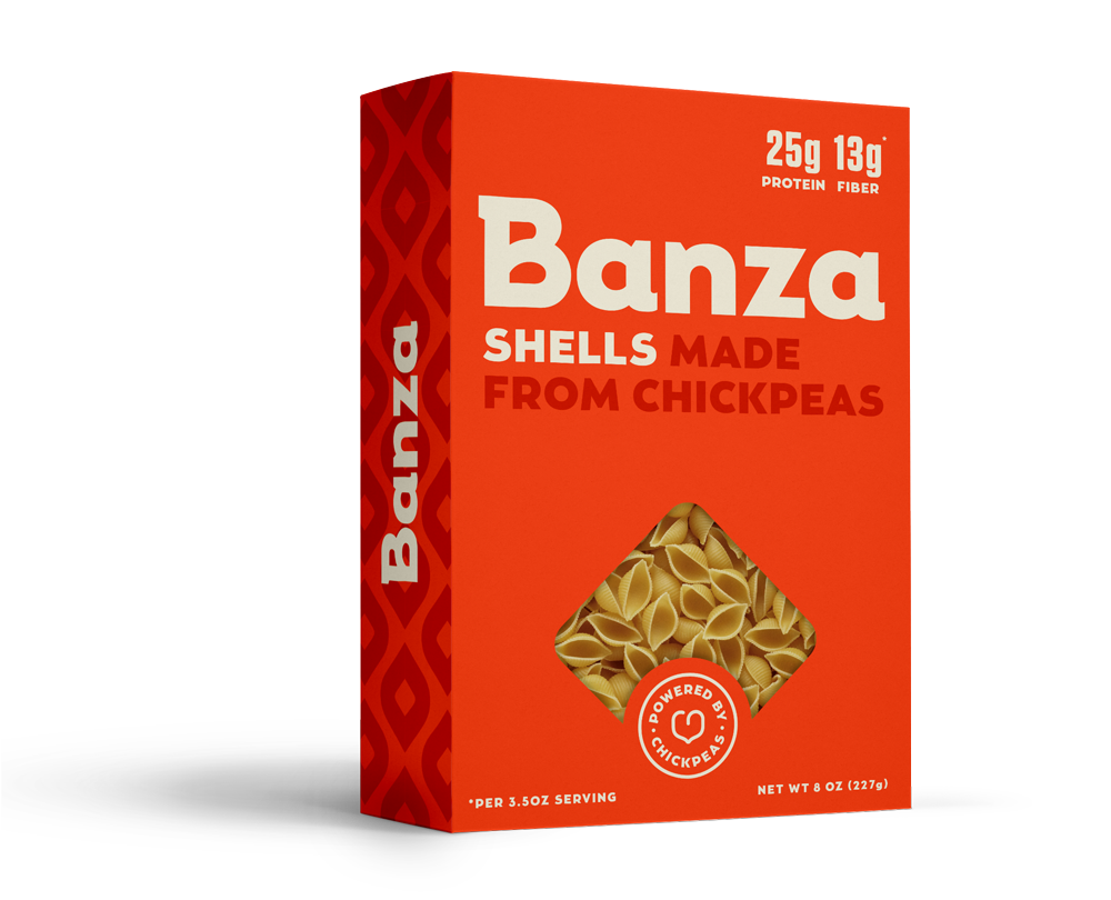 Chickpea Pasta, Shells (8oz)