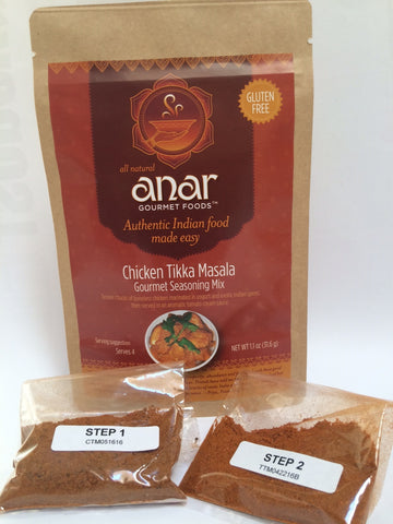 Anar Gourmet Indian Seasoning Mixes