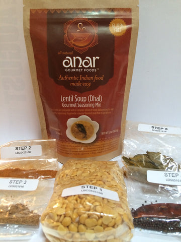 Anar Gourmet Indian Lentil (Dal) Soup mix