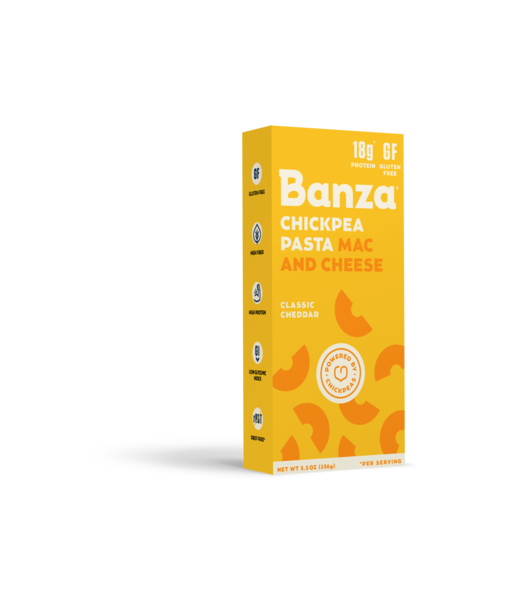 Banza Chickpea Pasta MAC and CHEESE